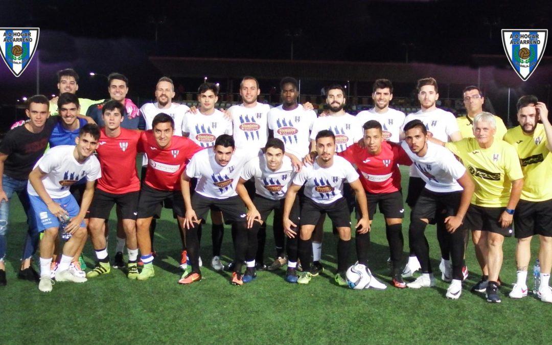Partido de cuartos trofeo Virgen de la Antigua Ferias y fiestas de Guadalajara Hogar Alcarreño 1 – 1 Usanos C.F , 5-4 tanda de penaltis