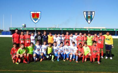 Preciosas instalaciones en la Ciudad deportiva del Numancia con un trato exquisito en una mañana deportiva que nuestros muchachos no olvidaran .