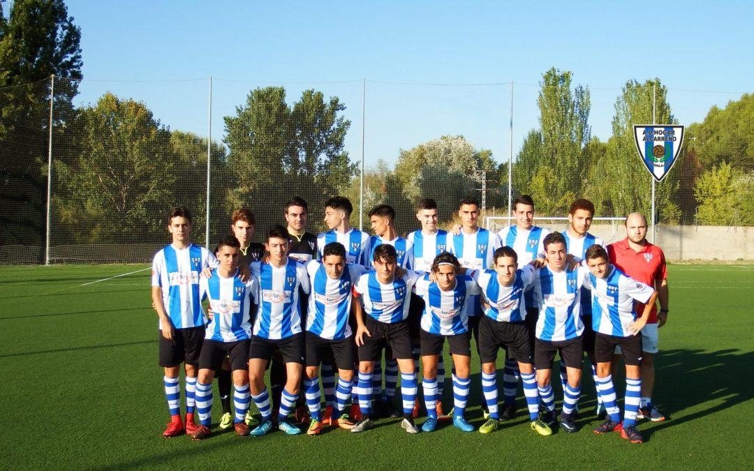 Rayo Arriacense 0 – 8 Hogar Alcarreño juvenil «B»