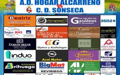 HOGAR ALCARREÑO,  C.D. SONSECA SABADO 17 A LAS 18;30 HORAS  CAMPO FUENTE LA NIÑA.