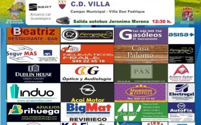 VILLA-HOGAR ALCARREÑO, DOMINGO A LAS 16'00 HORAS