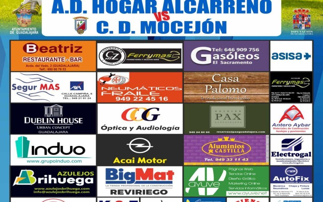 HOGAR ALCARREÑO-MOCEJÓN,  SÁBADO, 18'30, EN FUENTE DE LA NIÑA
