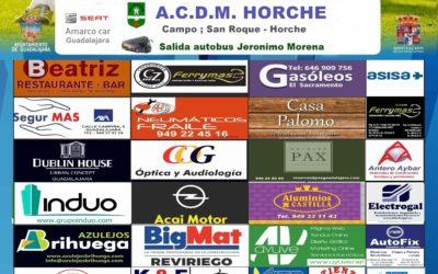 A.C.D.M. HORCHE – HOGAR ALCARREÑO 11-11-2018  17:00HORAS