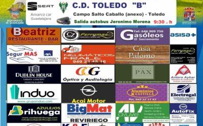 TOLEDO B-HOGAR ALCARREÑO, DOMINGO A LAS 12'00 HORAS