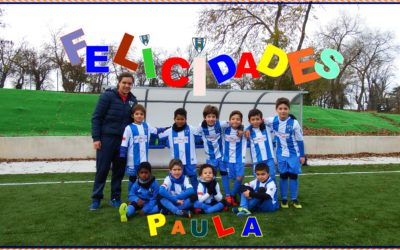 Felicidades  Paula Fernández Vicente