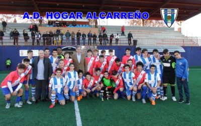 El Hogar Alcarreño se ha proclamado subcampeón al perder 2-4 contra la A.D Torrejon en la final Cadete.