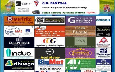 PANTOJA-HOGAR ALCARREÑO,  DOMINGO A LAS 16'00 HORAS