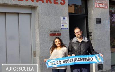 AUTOESCUELA HENARES, UN AÑO MÁS CON EL HOGAR ALCARREÑO