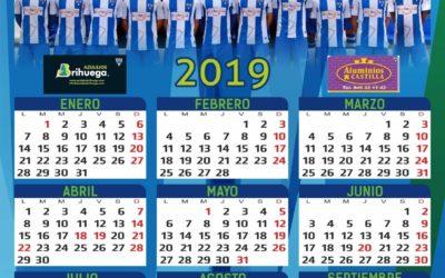 CALENDARIOS CON FOTO OFICIAL TEMPORADA 2018-2019 A.D. HOGAR ALCARREÑO