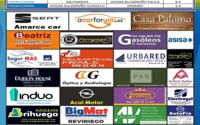 RESULTADOS  PARTIDOS JORNADA 2-3 FEBRERO 2019  DE LA A.D. HOGAR ALCARREÑO.