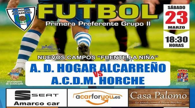 HOGAR ALCARREÑO-HORCHE, SÁBADO, 18'30 HORAS, EN FUENTE DE LA NIÑA