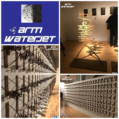 ARM WATERJET, CON EL ARTE