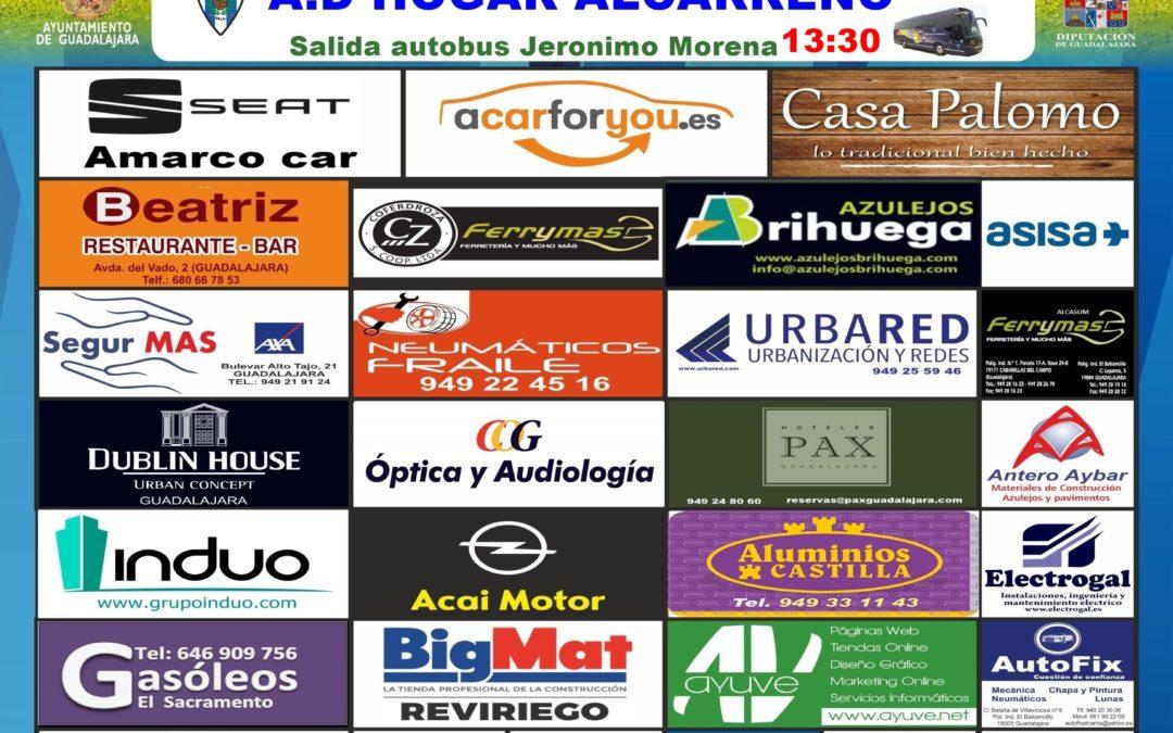 URDA-HOGAR ALCARREÑO,  DOMINGO A LAS 17'00 HORAS
