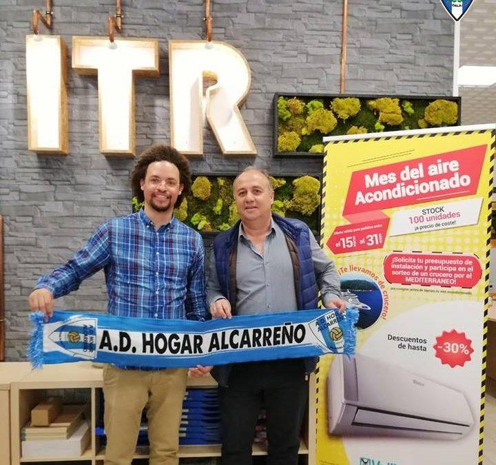 RENOVADO EL ACUERDO DE PATROCINIO ENTRE ITRSL y la A.D. HOGAR ALCARREÑO