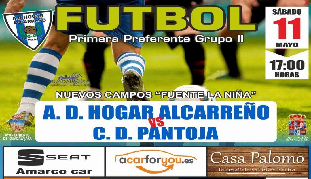 HOGAR ALCARREÑO-PANTOJA, SÁBADO, 17'00 H., EN FUENTE DE LA NIÑA