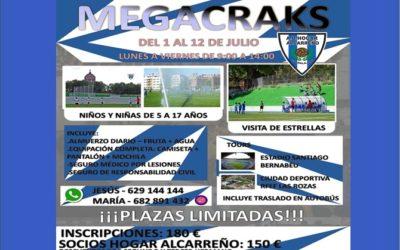 """Los responsables del prestigioso Campus """"SuperMegacracks"""" y el Club Hogar Alcarreño se han unido para organizar conjuntamente, este verano (1 al 12 de julio)"""
