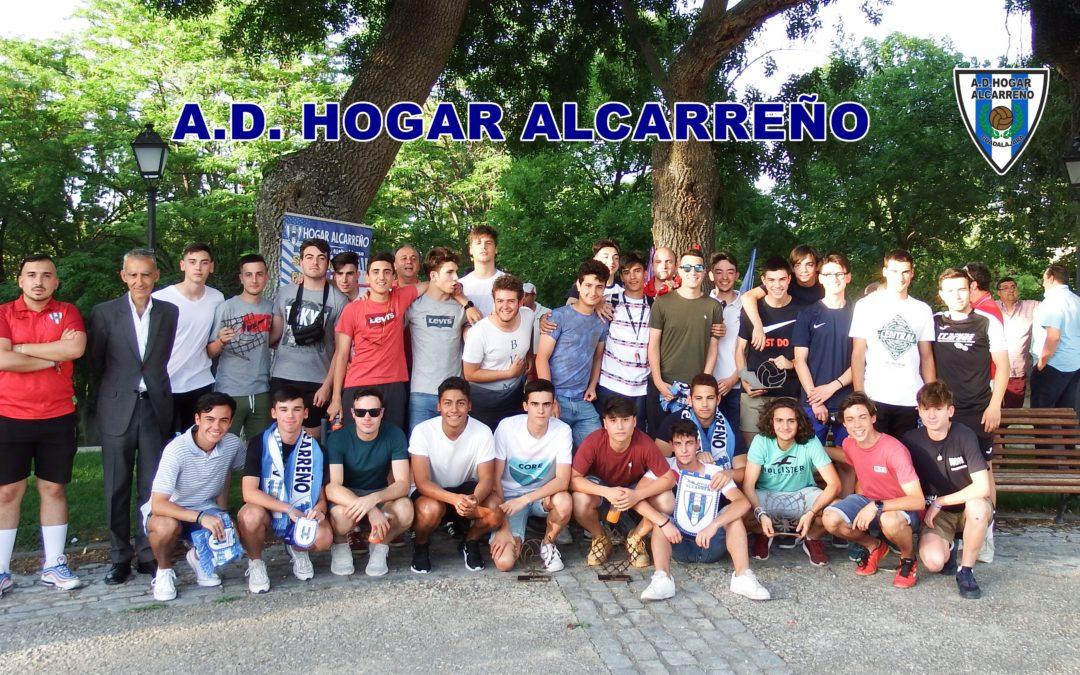 Los equipos juveniles del Hogar Alcarreño celebran su Fiesta Fin de Temporada
