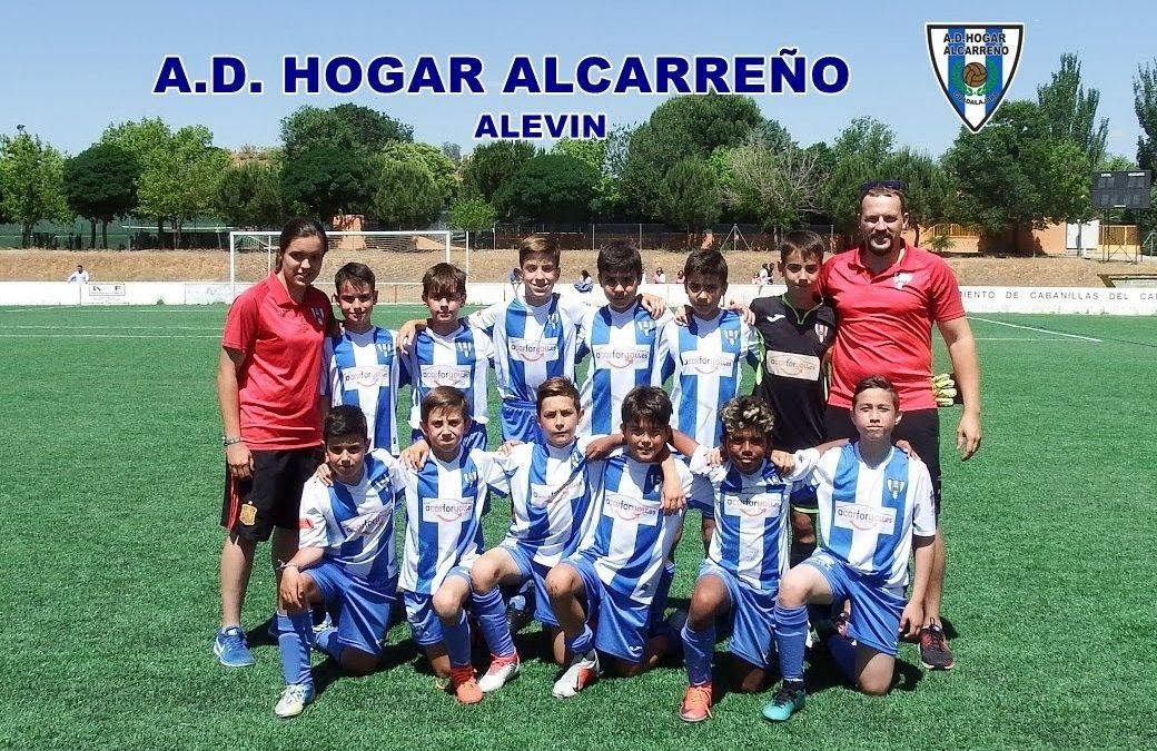 HOGAR ALCARREÑO ALEVIN , TORNEO RAMIRO ALMENDROS CABANILLAS 15-6-2019