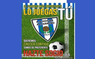 HAZTE SOCIO/A DEL HOGAR ALCARREÑO