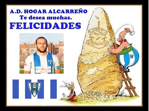 Deseamos a nuestro gran Capitan Mario Escamilla Quiles que pases un gran día de cumpleaños. un abrazo y Aupa Hogar !!