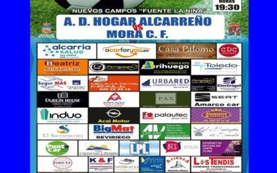 HOGAR ALCARREÑO-MORA, DOMINGO DIA 1 A LAS 19'30 EN FUENTE DE LA NIÑA.