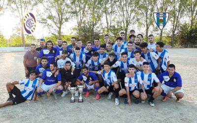 CIFONTINO 3-1 HOGAR ALCARREÑO JUVENIL 6-9-2019. TROFEOS FIESTAS