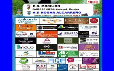 MOCEJÓN-HOGAR ALCARREÑO,  DOMINGO A LAS 18'30 HORAS