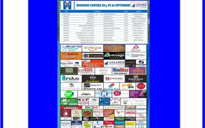JORNADA CANTERA 28-29 SEPTIEMBRE 2019 HOGAR ALCARREÑO .URBARED