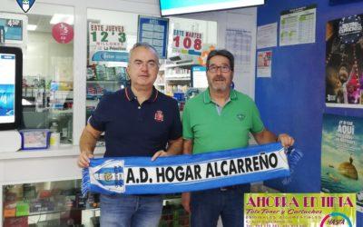 ESTANCO TOTE, RENUEVA SU COLABORACIÓN CON EL HOGAR ALCARREÑO