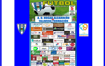 HOGAR ALCARREÑO- TALAVERA FORMACION , SABADO 5 A LAS 18;30H . SEGURMAS