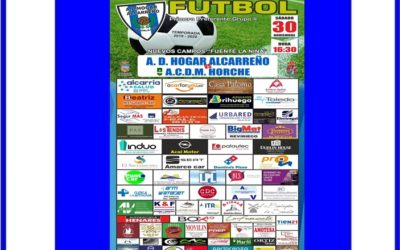 HOGAR ALCARREÑO- HORCHE  SABADO DIA 30 A LAS 16:30 CAMPO FUENTE LA NIÑA . AMARCO CAR SEAT.