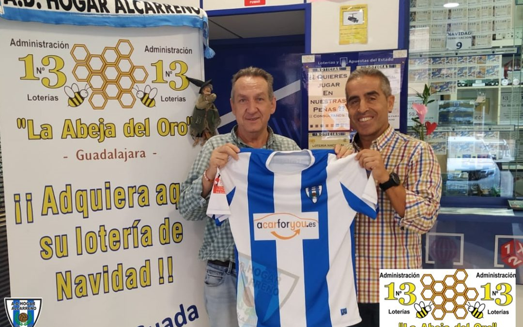 LA 13, ADMINISTRACIÓN DE LOTERÍAS, RENUEVA CON EL HOGAR ALCARREÑO