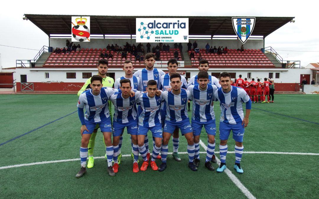 EL HOGAR ALCARREÑO, 3-0, CAE EN SONSECA