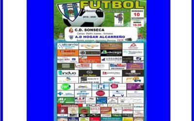 SONSECA – HOGAR ALCARREÑO .DOMINGO 10 NOVIEMBRE 2019 A LAS 16:30. . ALCARRIA SALUD