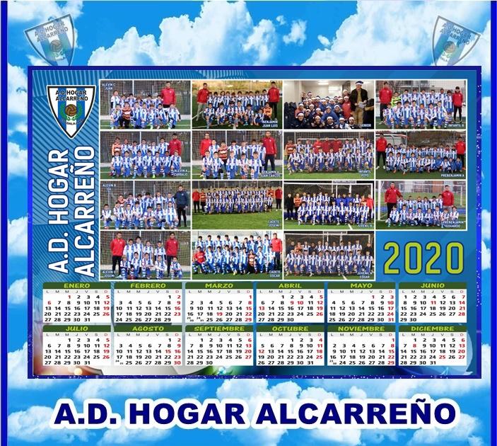 CALENDARIOS 2020 HOGAR ALCARREÑO.