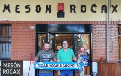 MESÓN ROCAX RENUEVA SU  COLABORACIÓN CON EL HOGAR ALCARREÑO