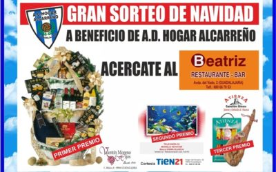 SUPERPORRA DE NAVIDAD DEL RESTAURANTE BEATRIZ Y EL HOGAR ALCARREÑO