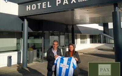 HOTEL PAX RENUEVA SU COMPROMISO  CON EL HOGAR ALCARREÑO