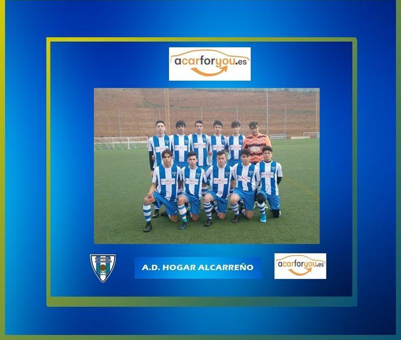 """EL JUVENIL  HOGAR ALCARREÑO """"B"""" PIERDE CONTRA DINAMO GUADALAJARA """"B""""."""