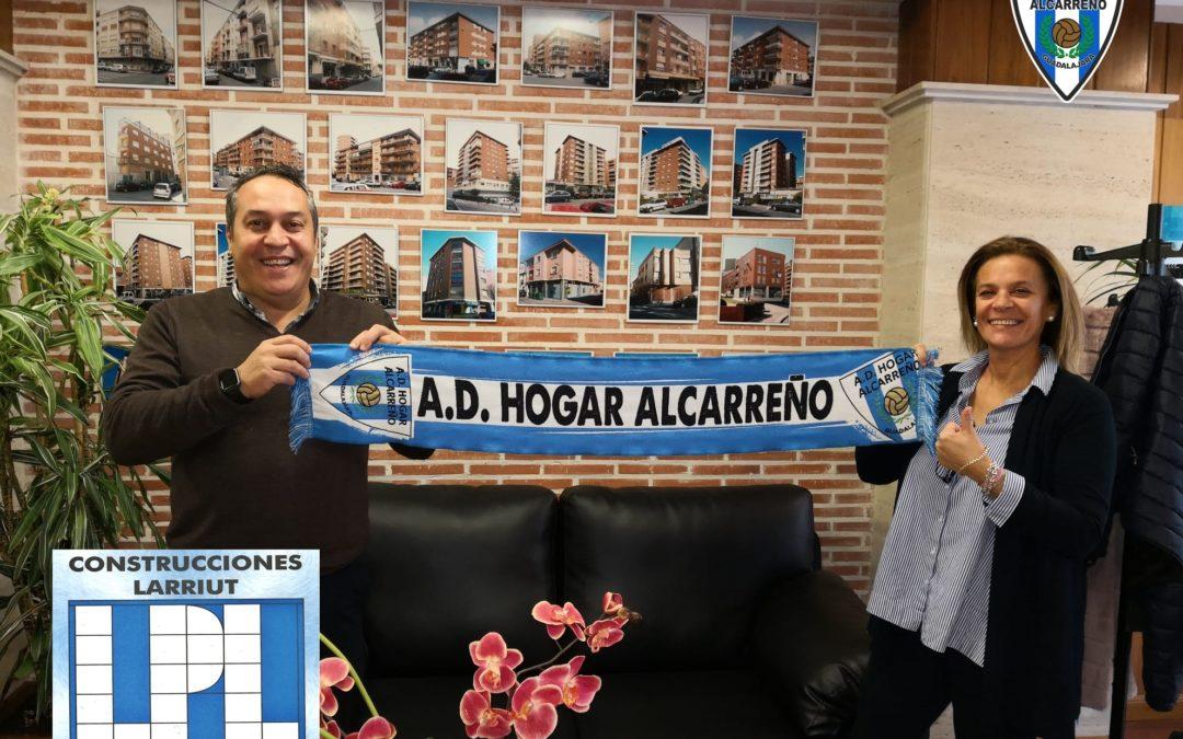 LARRIUT PROMOCIONES SE UNE  AL PROYECTO DEL HOGAR ALCARREÑO