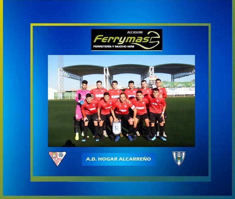EL HOGAR ALCARREÑO,  4-1, CAE EN MORA