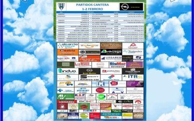 PARTIDOS CANTERA 1-2 FEBRERO 2020 -HOGAR ALCARREÑO . ACAI MOTOR
