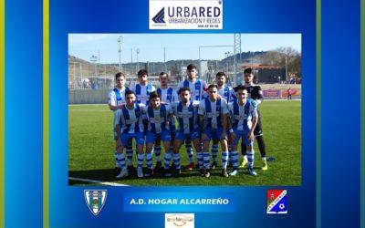 VICTORIA DEL HOGAR, 3-0, CON  GOL DE BANDERA DE F. CUENCA