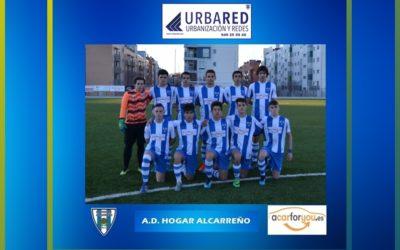 JUVENIL HOGAR ALCARRREÑO B 0-5 HOGAR ALCARREÑO A. 22 FEBRERO 2020 .URBARED