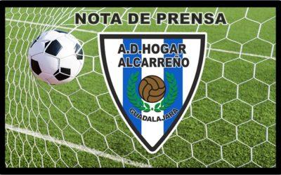 COMUNICADO OFICIAL HOGAR ALCARREÑO.