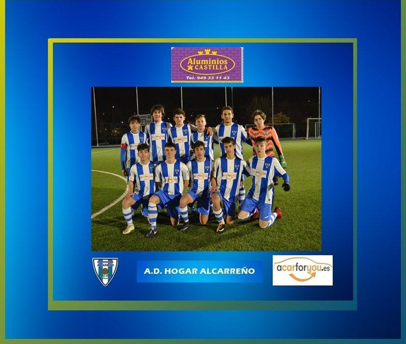 JUVENIL B.HOGAR ALCARREÑO 4-1 EL CASAR 6 MARZO 2020.ALUMINIOS CASTILLA