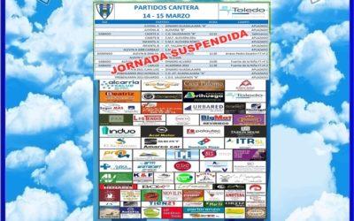 PARTIDOS CANTERA 14-15 MARZO 2020 -HOGAR ALCARREÑO . ASESORIA TOLEDO