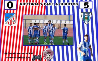 FINAL PARTIDO C.D. ORGACEÑO 0-5 HOGAR ALCARREÑO. VICTORIA Y PASE A CUARTOS.