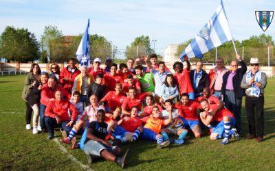 Recuerdo del Ascenso del Hogar Alcarreño a Primera Preferente, en la temporada 2016/2017 en El Casar