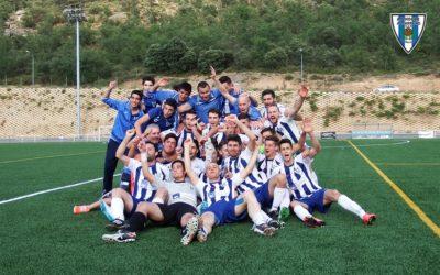 Recuerdo del Ascenso del Hogar Alcarreño Primera Autonómica, en la temporada 2014/2015 en Trillo.